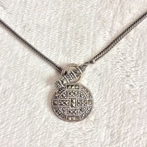 Jewelry - Sterling Silver Marcasite Necklace